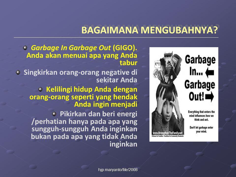 hjp.maryanto/file/2008 BAGAIMANA MENGUBAHNYA.Garbage In Garbage Out (GIGO).