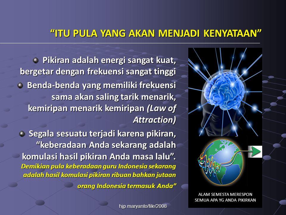 hjp.maryanto/file/2008 KONSTRUKTIVISME PROSES BELAJAR:   Belajar berarti membentuk makna.
