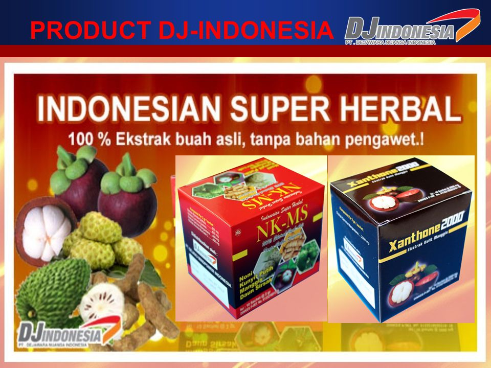 PRODUCT DJ-INDONESIA