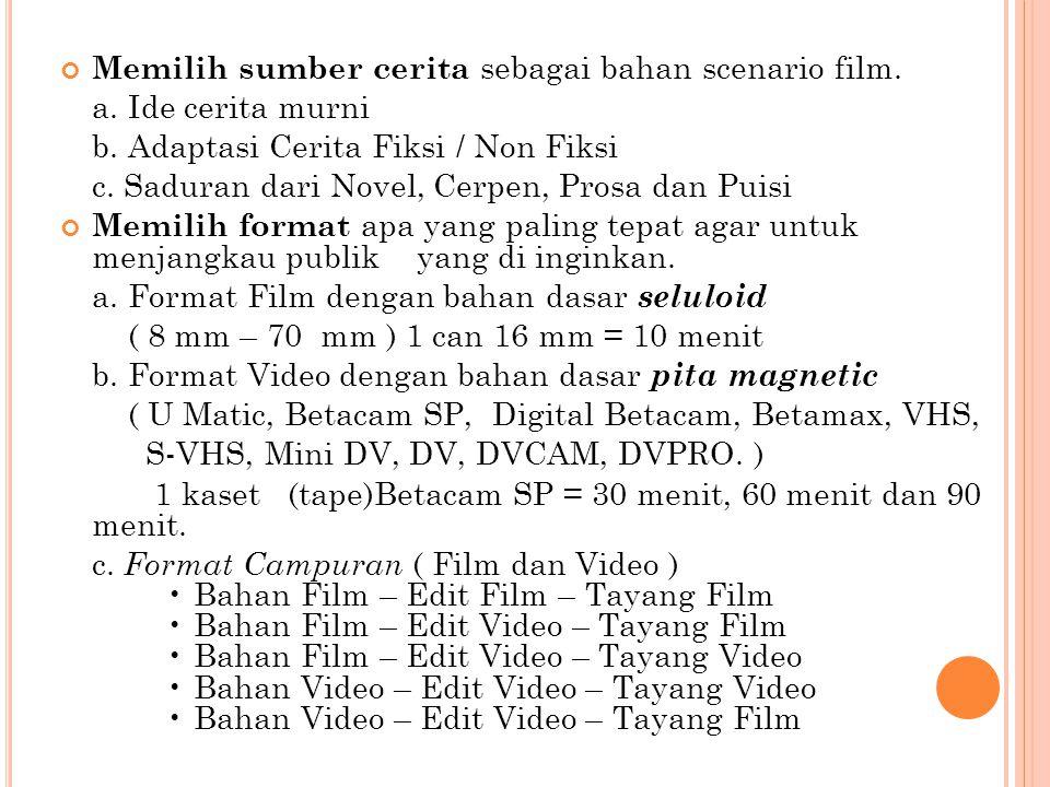 PRE PRODUCTION FILM