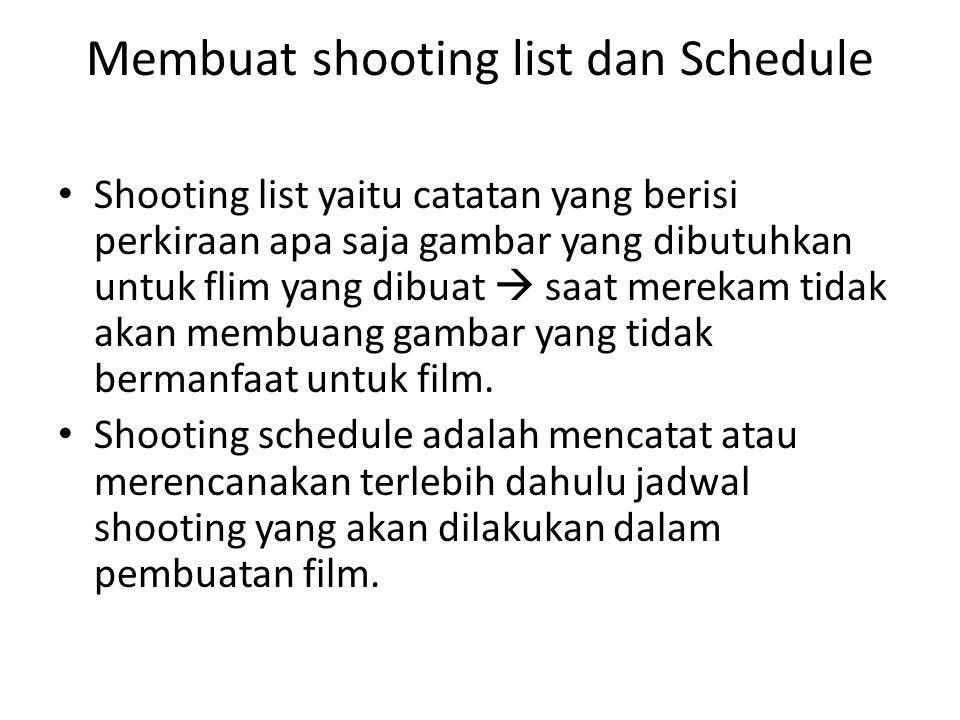 Editing • Tiga hal dalam editing adalah : • Membuat transkip wawancara, • Membuat logging gambar (membuat daftar gambar dari hasil shooting dengan detail) • Membuat editing script • Menggabungkan semua potongan film menjadi satu