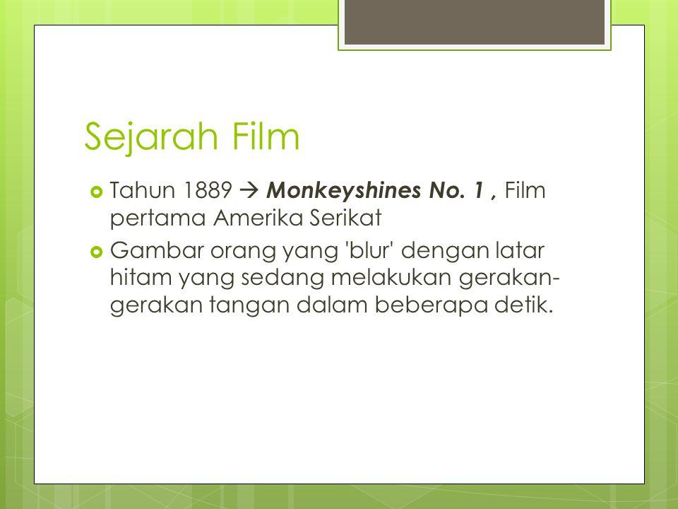 Sejarah Film  Tahun 1889  Monkeyshines No.