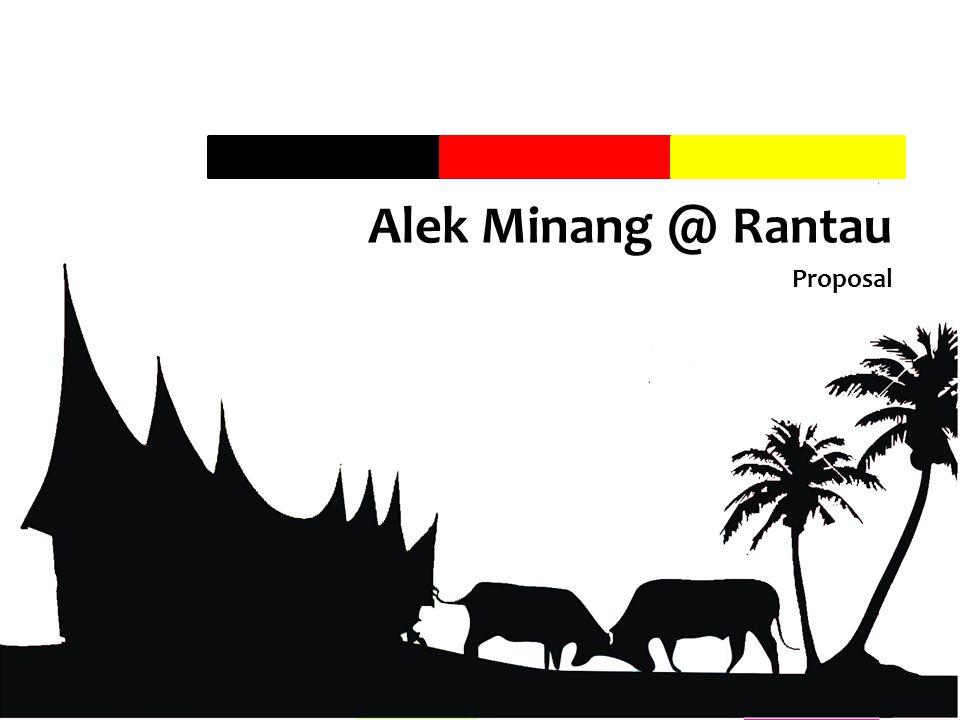 Alek Minang @ Rantau Proposal Classified - Private Use