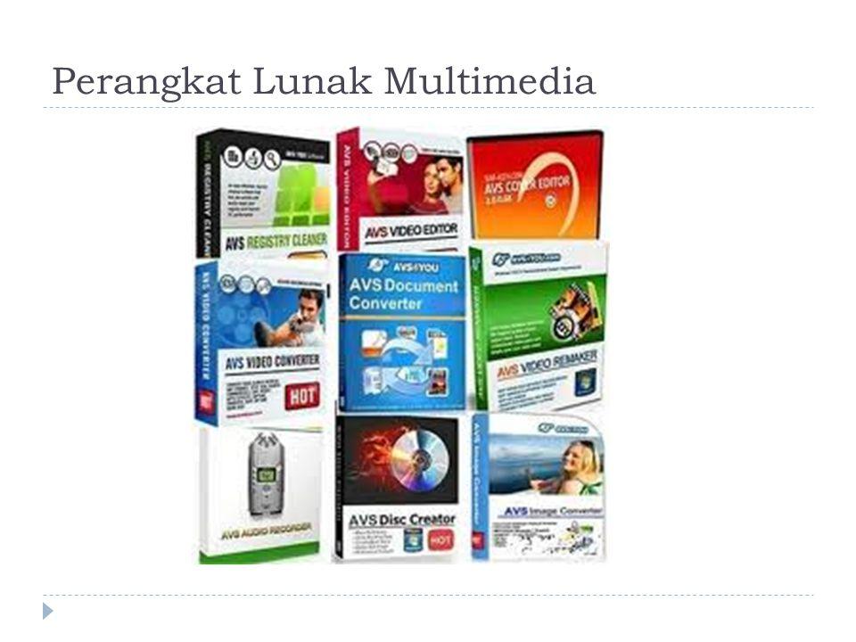 Perangkat Lunak Multimedia