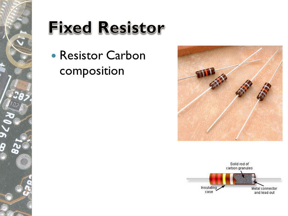  Resistor Carbon film