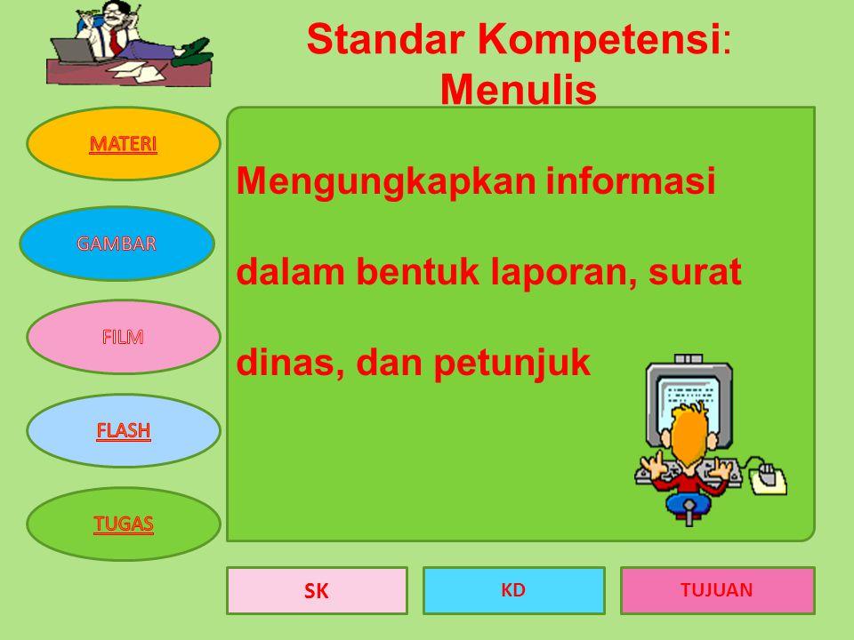 BAHASA INDONESIA Menulis petunjuk KELAS VIII SEMESTER I DISUSUN OLEH SRI YANTI, S.Pd.