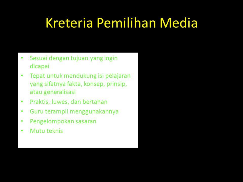 Prinsip psikologi dalam pemilihan dan penggunaan media • Motivasi • Perbedaan individual • Tujuan pembelajaran • Organisasi isi • Persiapan sebelum be