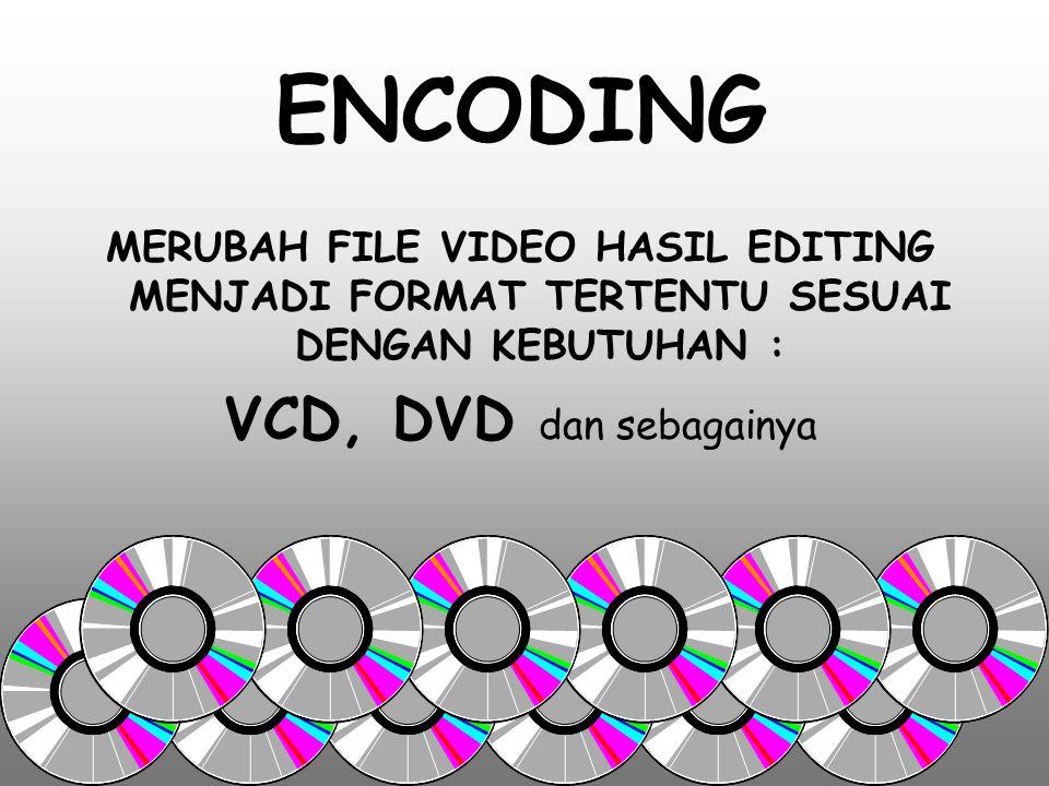 MIXING MEMADUKAN ANTARA : VIDEO dengan AUDIO atau VIDEO dengan VIDEO atau VIDEO DAN AUDIO dengan GRAFIS atau AUDIO dengan AUDIO