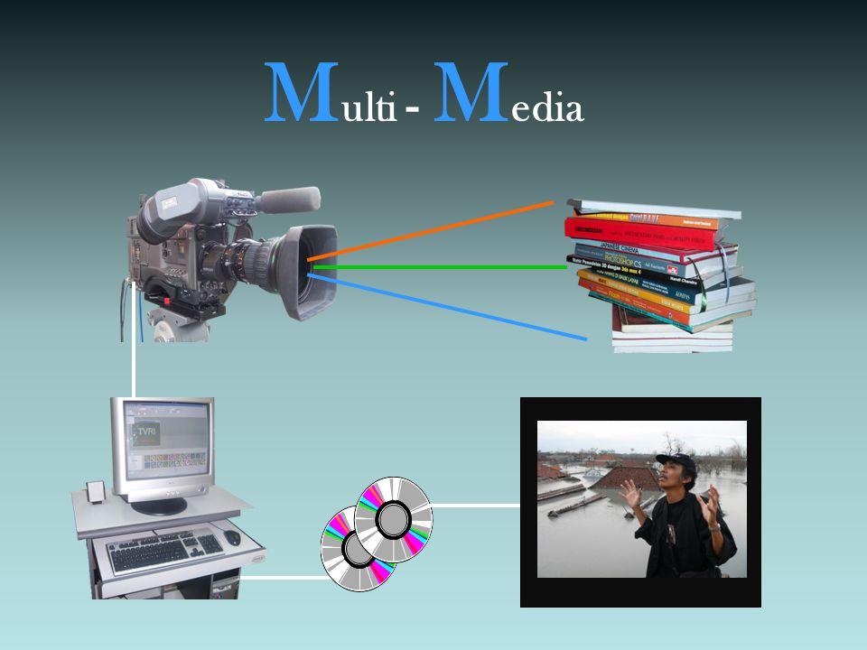 PERTEMUAN 1 •Pengertian Multi Media •Tahapan Produksi - Pra Produksi - Set Up – Rehearshal - Produksi - Pasca Produksi