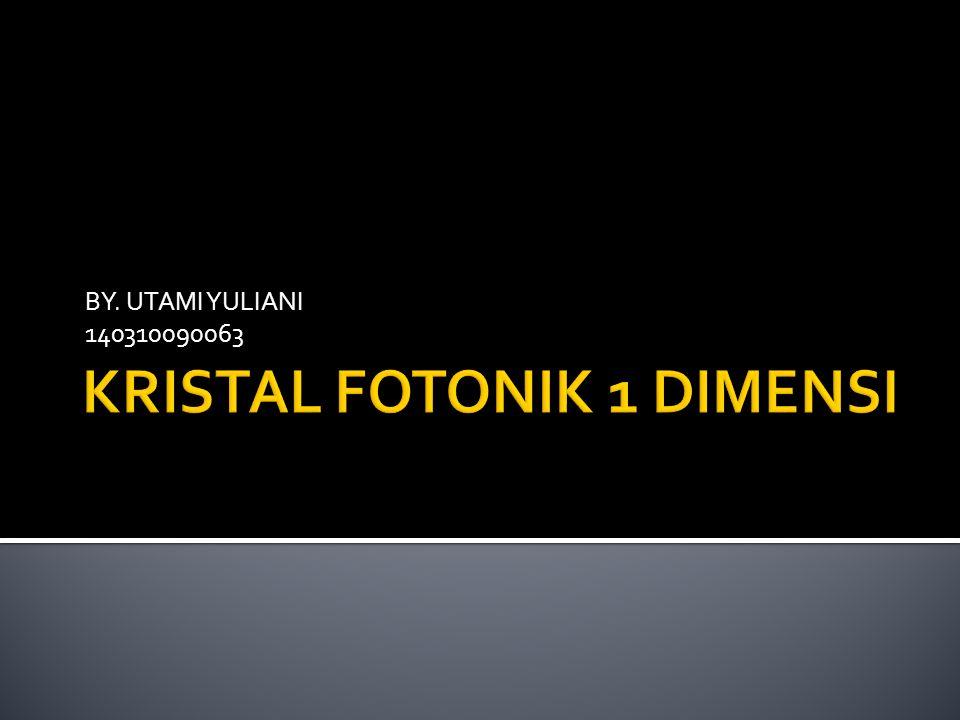 BY. UTAMI YULIANI 140310090063
