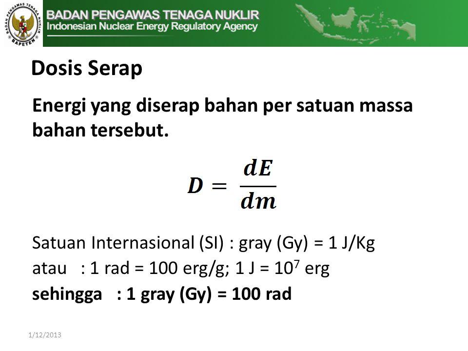 1/12/2013 Energi yang diserap bahan per satuan massa bahan tersebut.