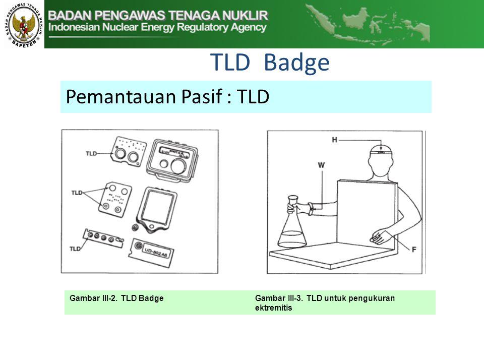 TLD Badge Pemantauan Pasif : TLD Gambar III-2.TLD BadgeGambar III-3.