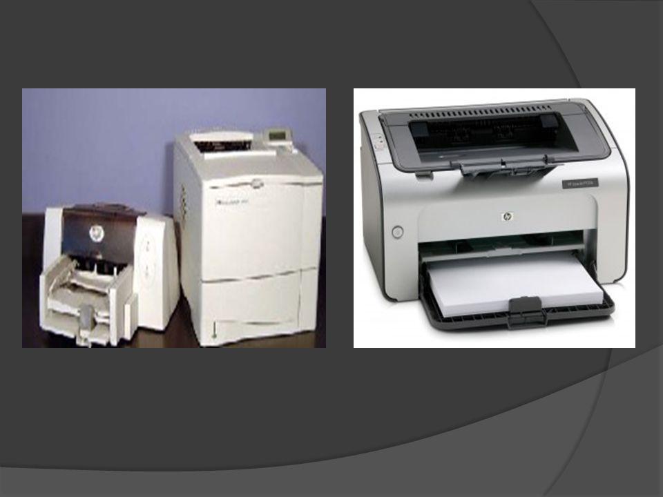 Printer Laser, ialah jenis printer yang menghasilkan cetakan yang baik dengan kecepatan tinggi. Printer ini didesain untuk memberikan hasil yang bagus