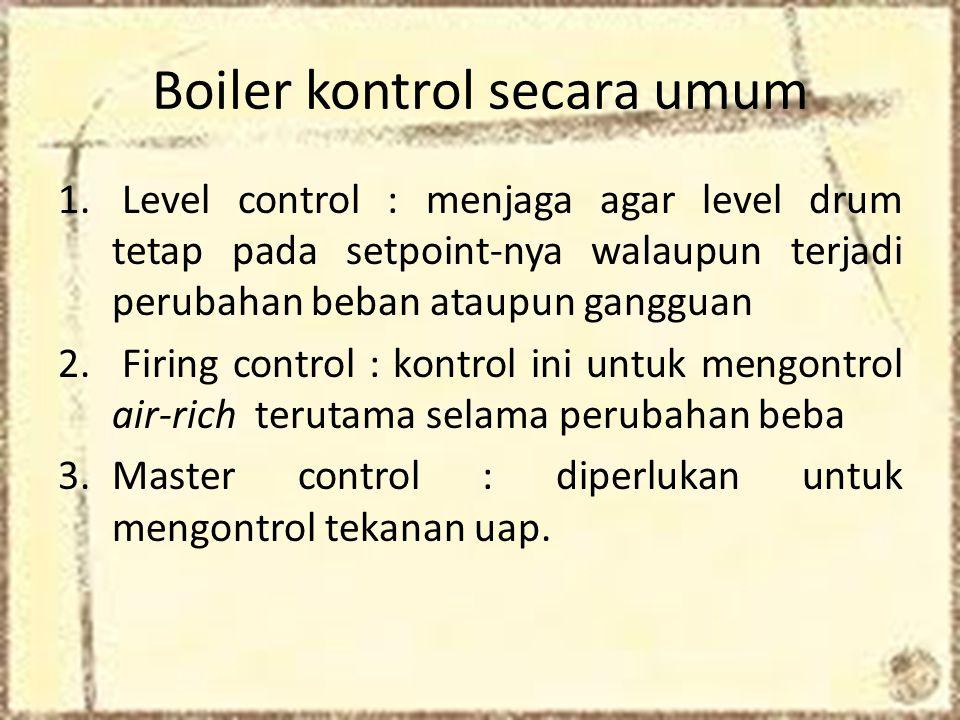 Boiler kontrol secara umum 1.