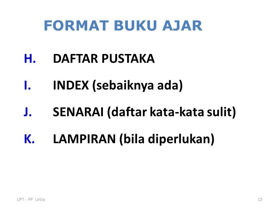 UPT - PP Unila12 BAB I.JUDUL BAB A. PENDAHULUAN B.