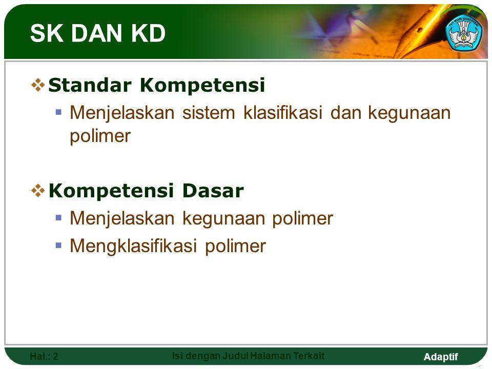 POLIMER Kimia SMK KELAS XII SEMESTER 1 SMKN 7 BANDUNG