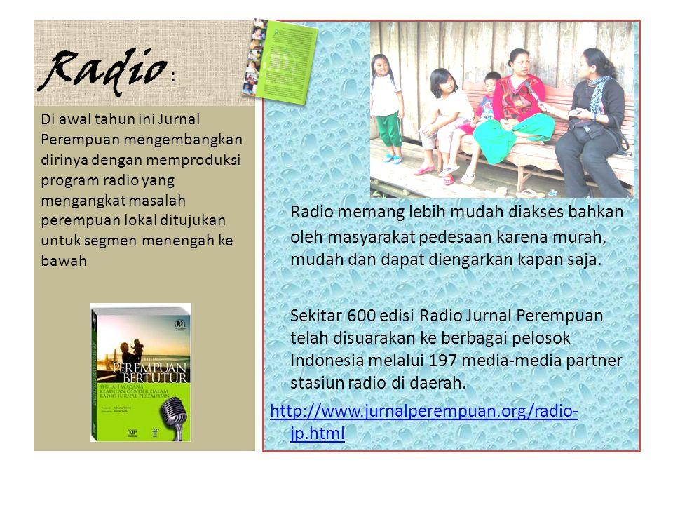 JP Internasional • JP juga memiliki ambisi untuk merambah pembaca internasional agar scholar perempuan Indonesia dikenal dengan menerbitkan JP berbahasa Inggris.