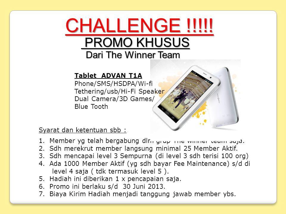 CHALLENGE !!!!.