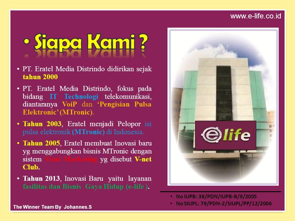•PT. Eratel Media Distrindo didirikan sejak tahun 2000.