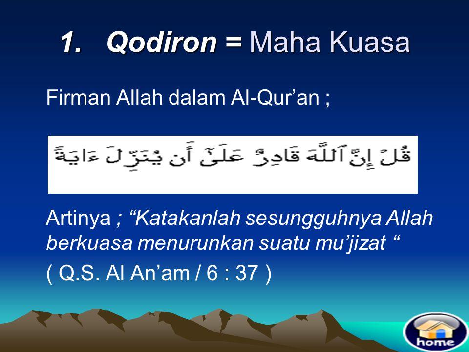 4. Sifat Ma'nawiyah •Adalah kelaziman dari sifat Ma'ani dan sifat yang berhubungan dengan sifat yang Ma'ani atau sifat yang merupakan kelanjutan dari