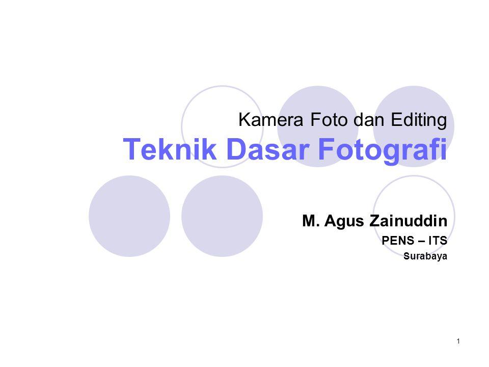 2 Pokok Bahasan  Pencahayaan  Aspek Komposisi  Sudut Pandang Kamera  Kontras yang Tajam