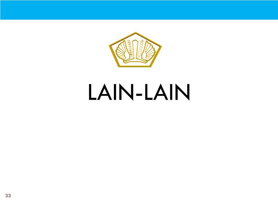 33 LAIN-LAIN
