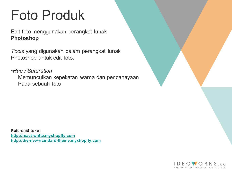 The Promenade Building Lot 14, Jalan Warung Buncit Raya no 98 Jakarta Selatan Email: shopify@ideoworks.coshopify@ideoworks.co Tel.