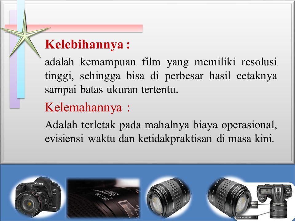 Anatomi Kamera DSLR 1.Badan kamera 2. Lensa 3. Cermin pemantul dengan sudut 45 derajat 4.