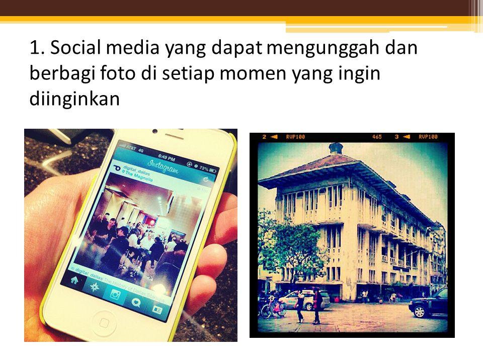 Kelebihan instagram