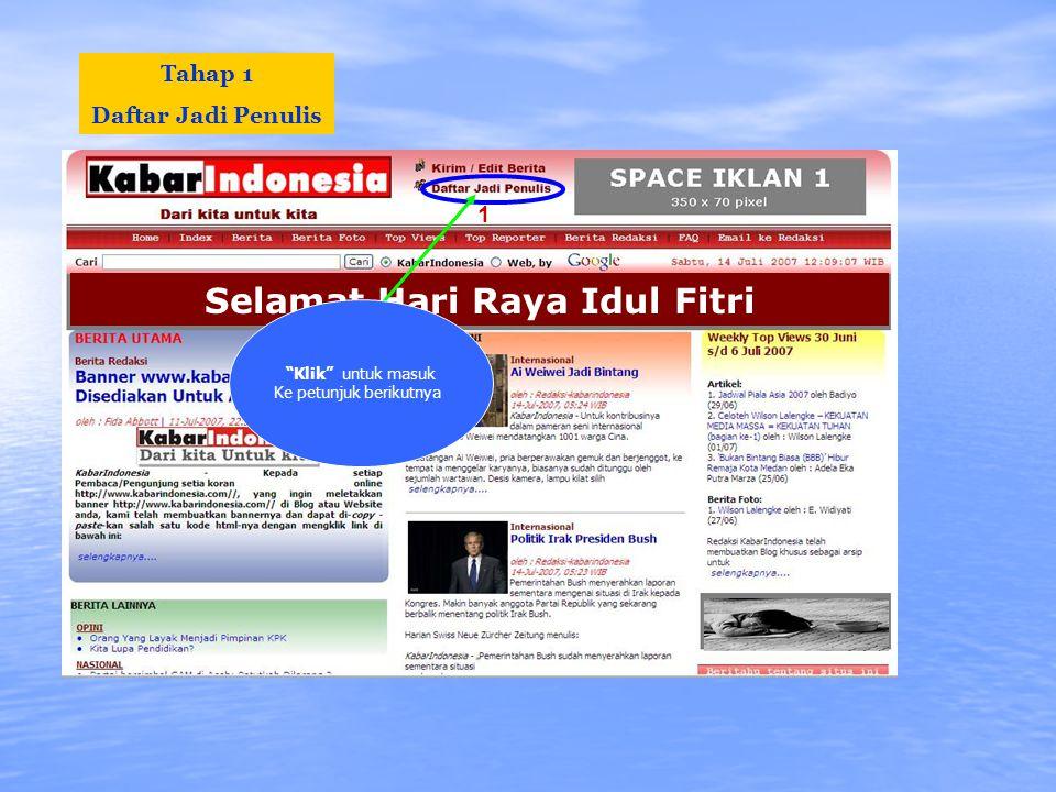 KabarIndonesia menyediakan • Tutorial panduan menulis & tip-tip lainnya.