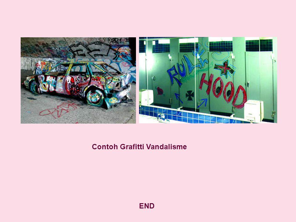 Contoh Grafitti Vandalisme