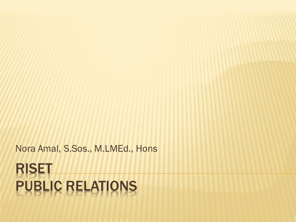 Nora Amal, S.Sos., M.LMEd., Hons