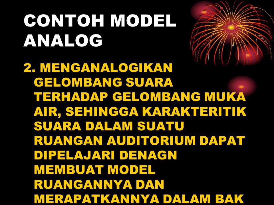 CONTOH MODEL ANALOG 2.