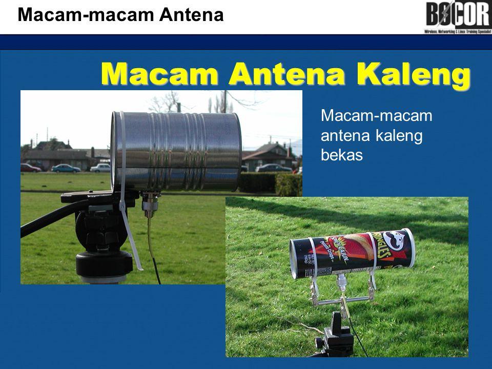 Macam Antena Kaleng Macam-macam Antena Macam-macam antena kaleng bekas