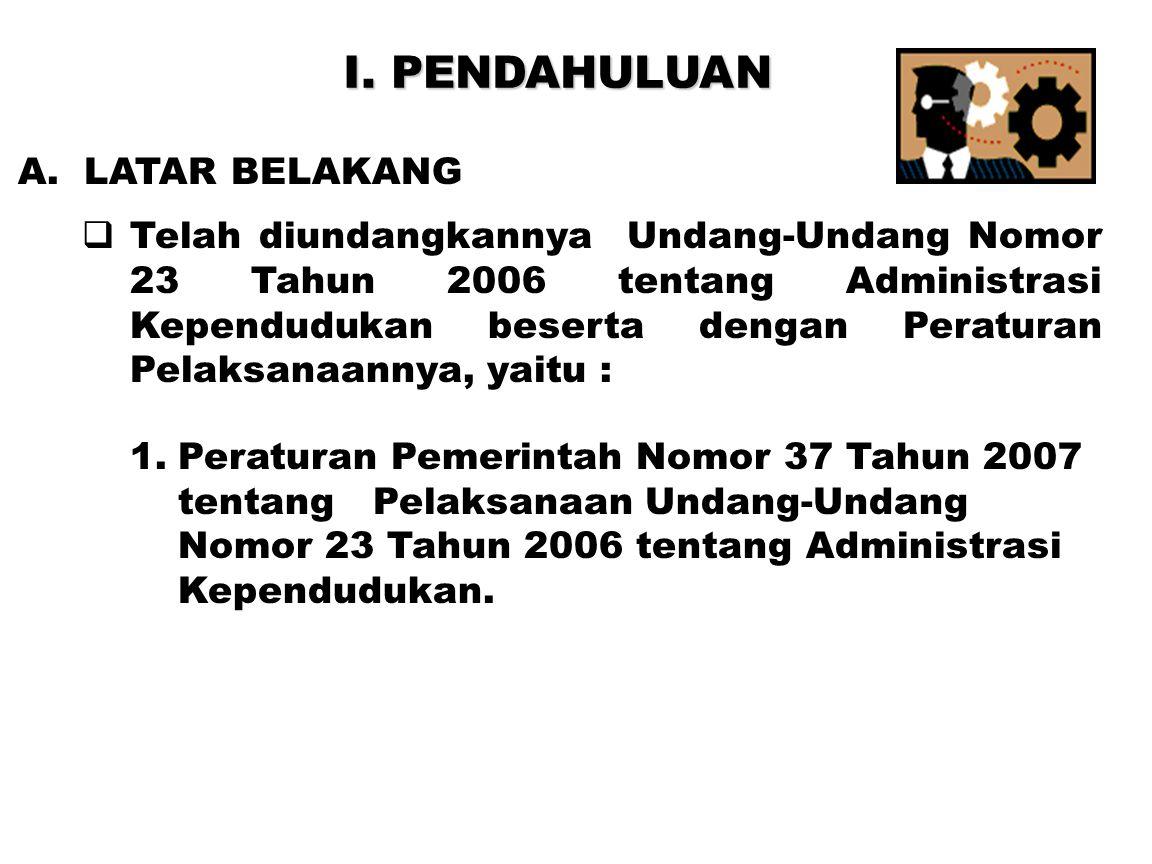 22  Persyaratan bagi penduduk WNI :  Surat Pengantar dari RT/RW.