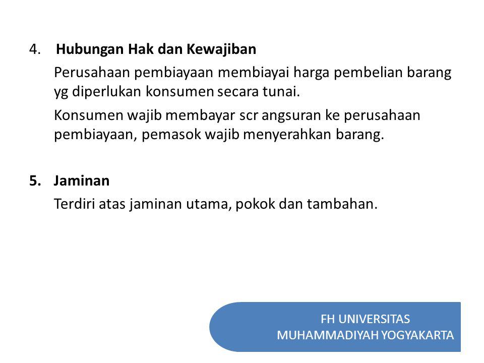 FH UNIVERSITAS MUHAMMADIYAH YOGYAKARTA Substantif : Perjanjian atas dasar kebebasan berkontrak Administratif : Keppres No.