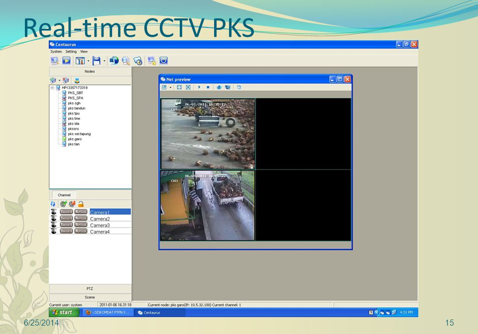 Real-time CCTV PKS 6/25/201415