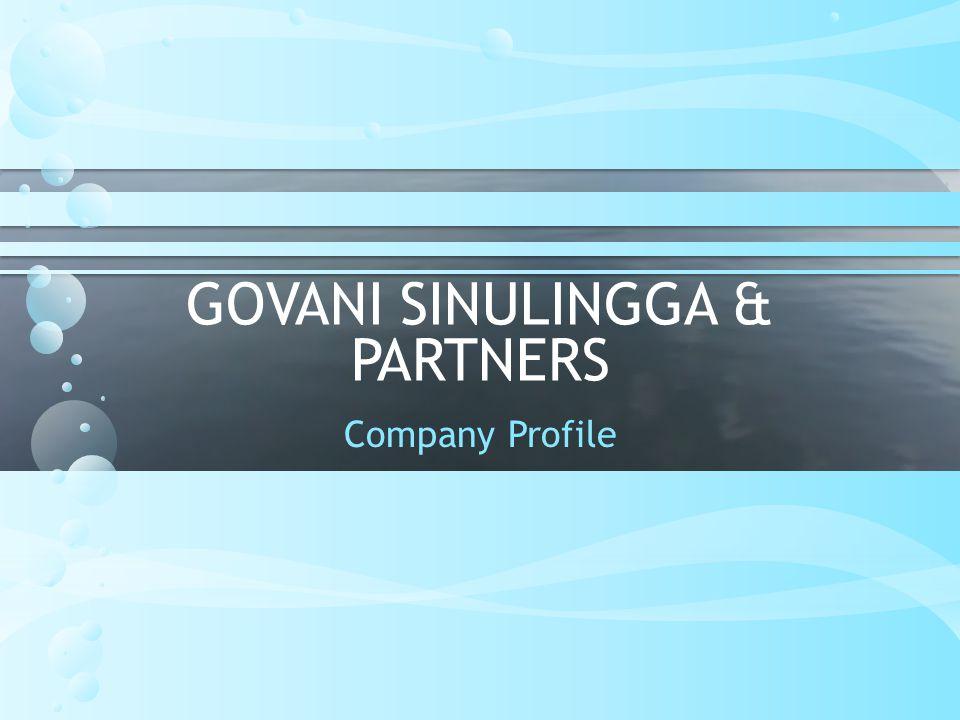 THANK YOU Giovani Sinulingga & Partners