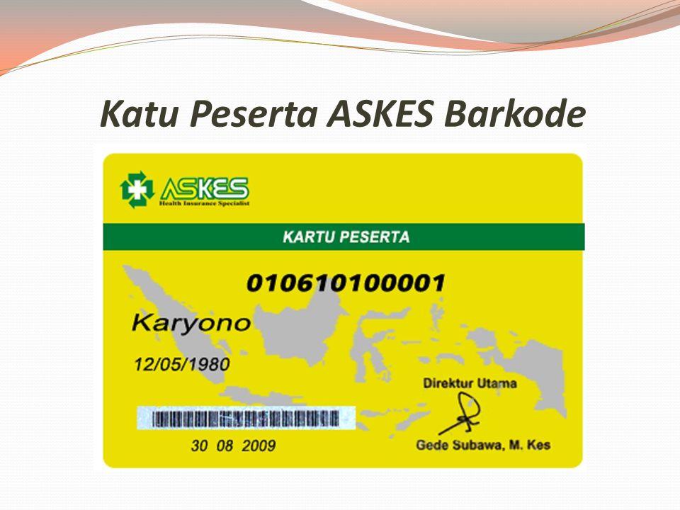 Persyaratan Pembuatan Kartu ASKES*) 1. Formulir AskesFormulir Askes 2. Legalisir SK Terakhir 3. Legalisir Akta Nikah (suami/istri) 4. Akta kelahiran (
