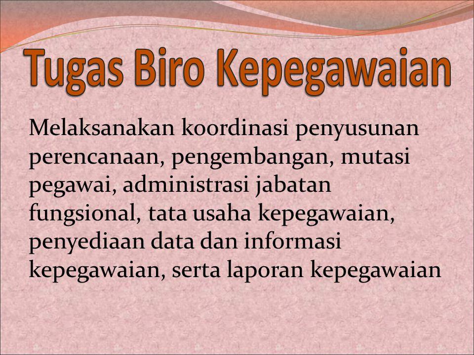 Persyaratan Pembuatan Kartu Pegawai (KARPEG) 1.Legalisir SK CPNS; 2.