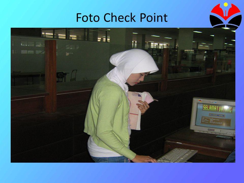 Foto OPAC (Katalog Elektronik)