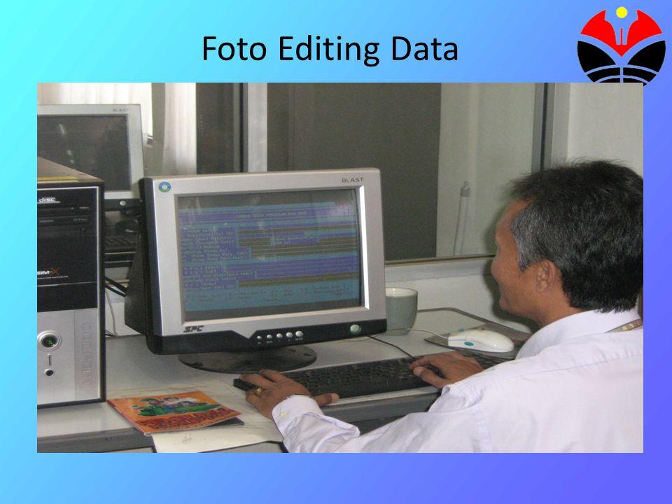 Foto Pemasukan Data