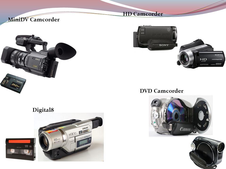 MiniDV Camcorder Digital8 DVD Camcorder HD Camcorder