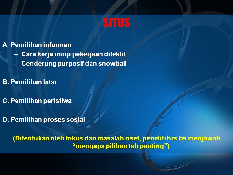 SITUS A.