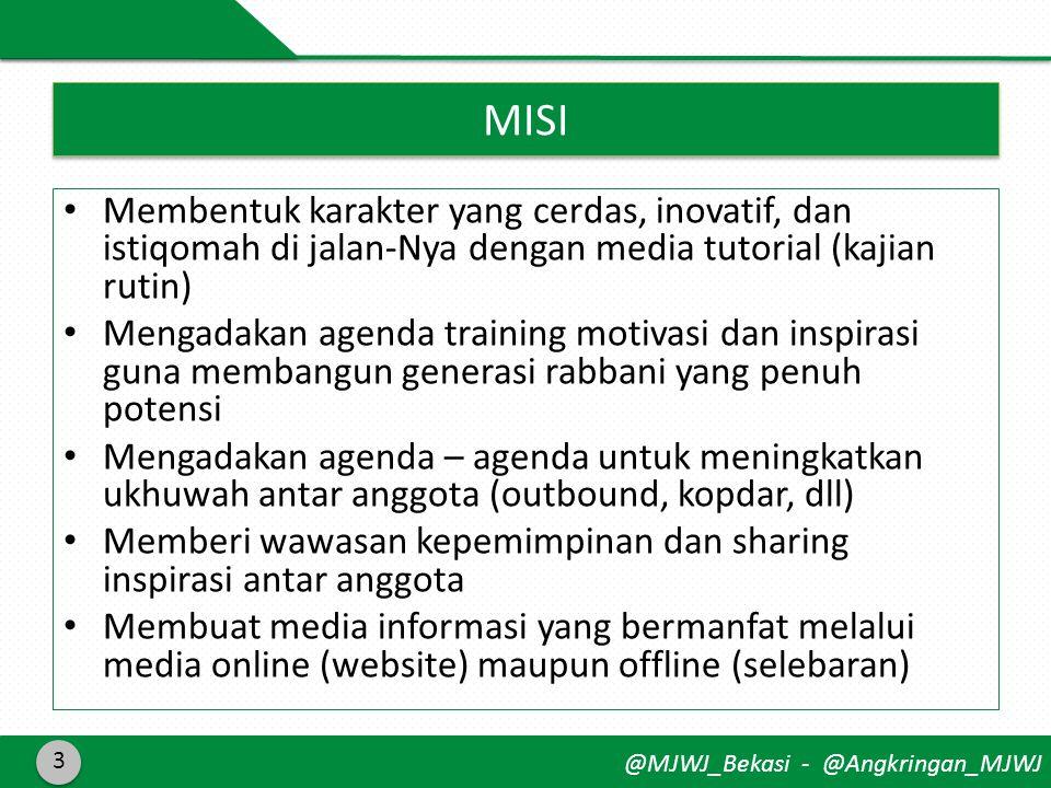 @MJWJ_Bekasi - @Angkringan_MJWJ Menginspirasi pemuda lewat dakwah dan ukhuwah 4 Tagline @Manjaddawajadaa Taat bermanfaat dan penuh semangat