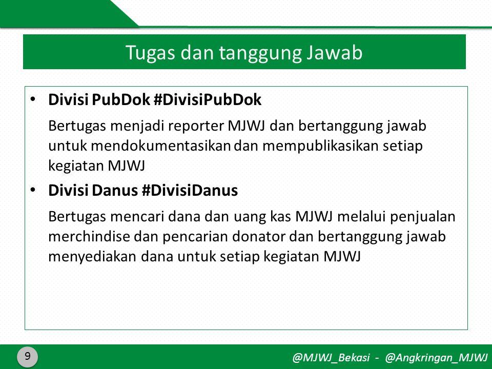 @MJWJ_Bekasi - @Angkringan_MJWJ 10 COME JOINT US #CP: 08571698288 Ukhti Corie >> ( Akhwat ) Meja Panitia @MJWJ_Bekasi #CP : 08569506215 Akhi Riko >> ( Ikhwan )
