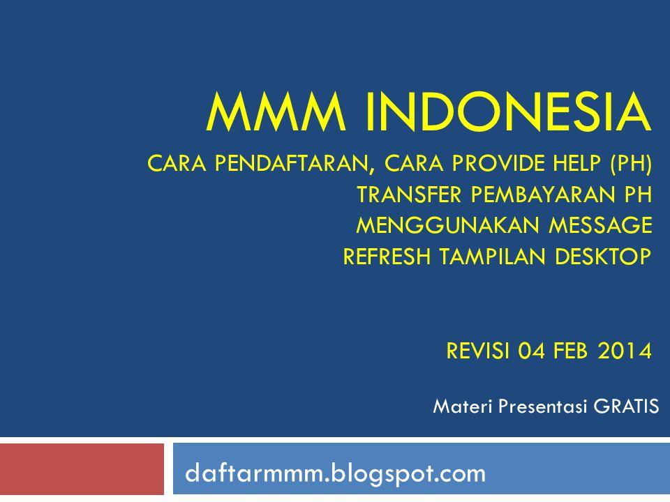 22 daftarmmm.blogspot.com Pilih Indonesian Rupiah (IDR), centang other bank dan klik NEXT