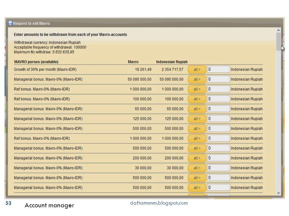 53 Account manager daftarmmm.blogspot.com