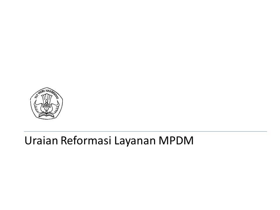 Uraian Reformasi Layanan MPDM