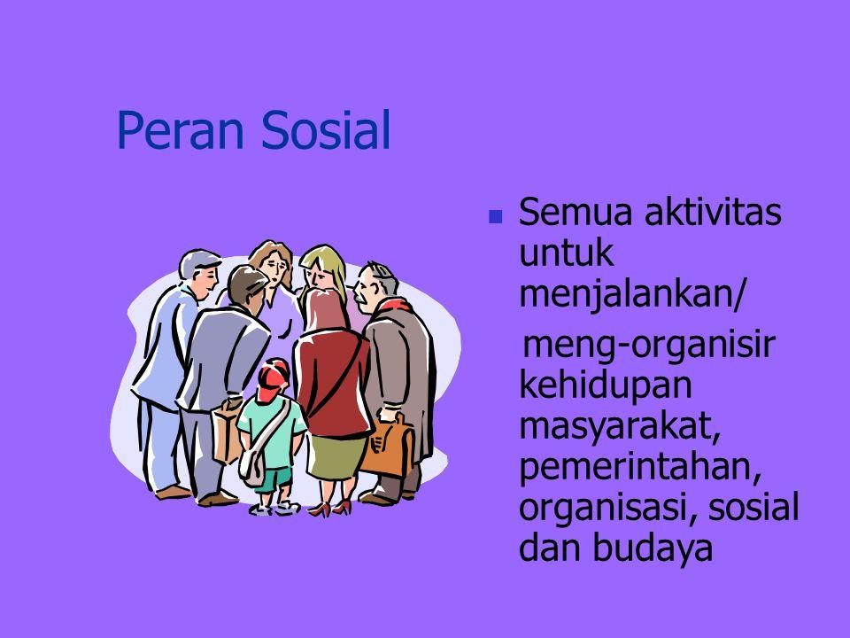 Peran Reproduktif  Biologis: melahirkan (perempuan)  Sosial : merawat, mengasuh,mendidik anak, memasak, mencuci. (perempuan)